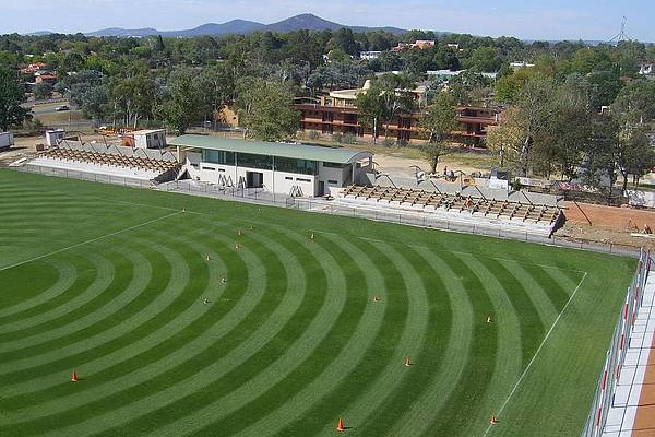 Deakin Stadium up
